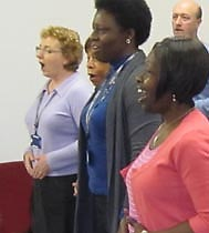 vocal coaching and confidence building for choirs and ensembles